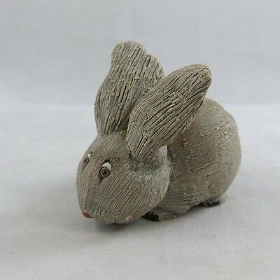Vintage Rinconada Classic #38 Red Eyed Gray Rabbit Ears Up ca: 1973-80 Retired