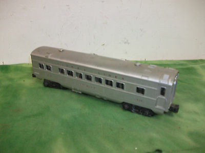 Lionel Lines O Scale  Post War ( lighted )  Newark  Passenger Car # 2434 Lot #RO