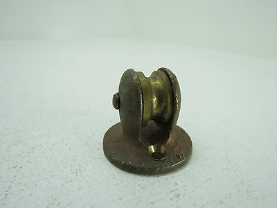 3/4 Inch Bronze Deck Pulley Block Boat Ship Brass Block Tackle (#227)