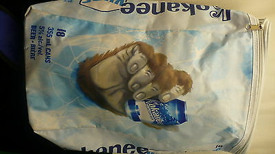 Kokanee Kube insulated knapsack style carry bag sasquatch hand 18 cans