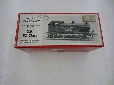 Wills Finecast OO Gauge F109 S.R. E2 CLASS Southern 2013 Locomotive Body Kit