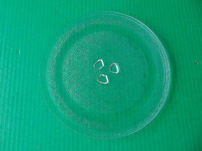 """MICROWAVE OVEN GLASS Turntable Rotating Plate 9 5/8"""" Universal Counter Oven 3"""
