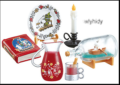Miniatures MOOMIN Homestyle Dishes Fun dining table Set #7 ,1pc only - Re-ment