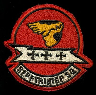 USAF 82nd Fighter Interceptor Squadron Patch S-14A