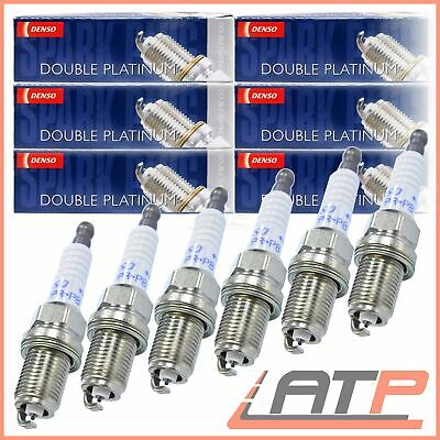 6x DENSO PK20PR-P8 SPARK PLUGS PLATINUM BENTLEY CONTINENTAL 6.0 03-06