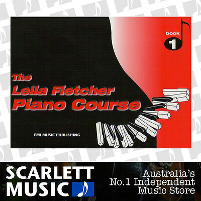 The Leila Fletcher Piano Course - Book 1 ( One / First ) *BRAND NEW*