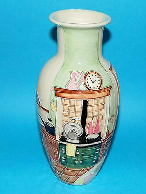 OLD TUPTON WARE pottery vase ' Country Kitchen '  BOXED  (3636)