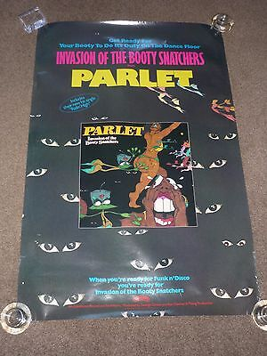 "Parlet ""Invasion Of The Booty Snatchers"" 1979 US Casablanca Promo Poster"