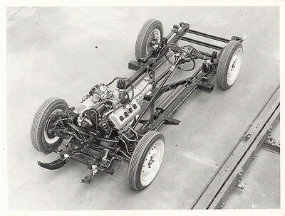 Daimler V8 Rolling Chassis L.h.d. Photograph.