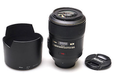 Nikon Micro-Nikkor 105 mm F/2.8 G SWM AF-S VR IF ED - JAPAN -