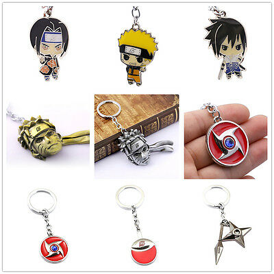 Anime Naruto Uzumaki Keychain Key Rings Cosplay Key Chain Unisex Chic Gift New