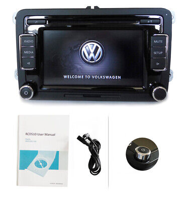 VW Autoradio RCD510,USB,CD,MP3,Touch,AUX,Golf ,Touran,Caddy,Passat, Polo,CC
