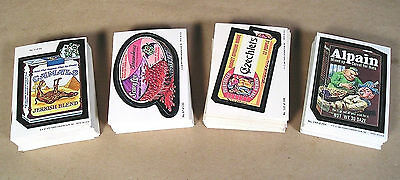 1979-80 Topps Wacky Packages Complete Series 1-4 Sticker Card Sets 264/264 EX+