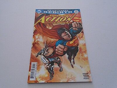 Action Comics 971 VARIANT EDITION (DC Comics) Mar 2017 SUPERMAN - REBIRTH