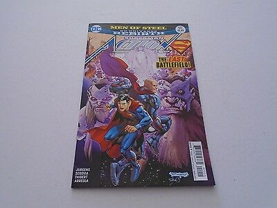 Action Comics 972 (DC Comics) Mar 2017 SUPERMAN - REBIRTH