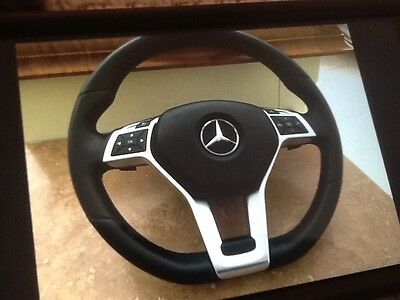 mercedes e class w207 amg 2014 flat bottom steering wheel and airbag