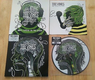 The Vines four singles job lot