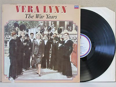 VERA LYNN- The Wars Years - Best of LP (1984 Decca) Greatest Hits Wartime 40s