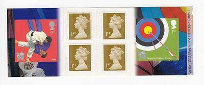 GB 6 x 1st CLASS PARALYMPIC GAMES 2012 LONDON OLYMPICS BOOKLET PO FRESH