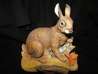 Wild Hare Rabbit Figurine Andrea By Sadek Of Japan #5807 Mint!