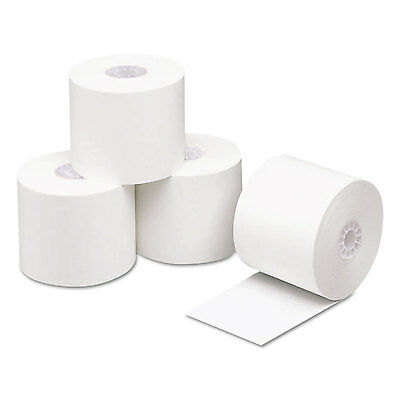 """Direct Thermal Printing Thermal Paper Rolls, 2.3ml, 2 1/4"""" X 200ft, White, 50/ct"""