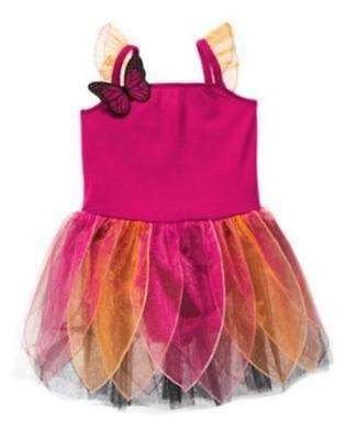 Nwt Gymboree Butterfly Fairy Costume Dress Up 3 4 7 8 Halloween