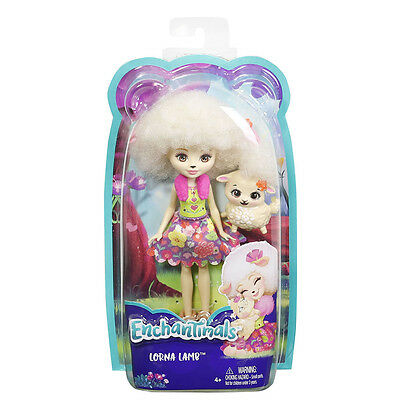 Enchantimals Doll and Animal Pack - Lorna Lamb and Flag Lamb - Pre Order 7/7/17
