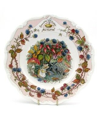Autumn Royal Doulton Brambly Hedge Four Seasons plate