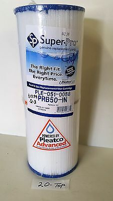 Pleatco SuperPro PLE-051-0088 Pool Spa Filter Replaces PRB50IN, C-4950