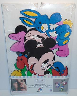 Disney Babies 3 Piece Wall Decor Set Mickey, Minnie Mouse, Donald Duck by Dolly