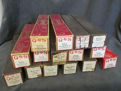 Vintage 15 PIANO ROLLS QRS - Nice Variety Old Favorites Lot 3