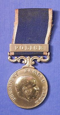 Kenya Police Long Service And Good Conduct Medal Sergeant                 Ab0464