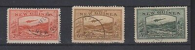 NEW GUINEA C49,C52-53  Air Mails used