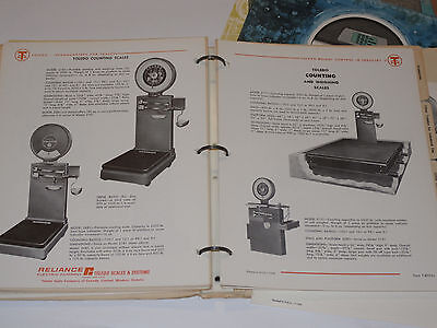 VINTAGE 1950s-70s TOLEDO INDUSTRIAL SCALE CATALOG! TRUCK/COUNTING/COTTON/PERSON+