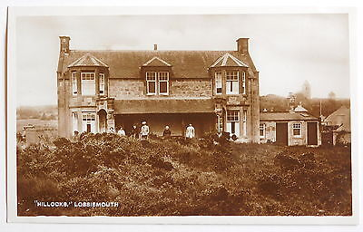 LOSSIEMOUTH, 'Hillocks', Moray RP - 1920's - Vintage postcard