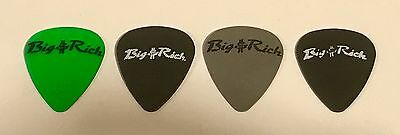Big & Rich - Guitar Pick Set Of 4 - 2017 Tour Picks - Country Music - And