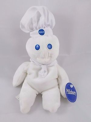 Pillsbury Doughboy Bean Plush 8.5""