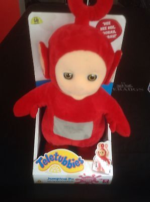 Teletubbies Jumping Po Soft Toy With Sound Effects. New And Boxed.