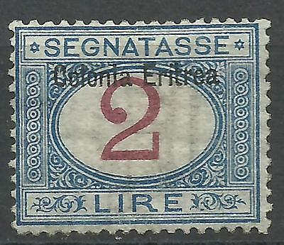 1903.Italia.Regno.Colonia Eritrea.Sassone TAX N° 9.Condition MLH