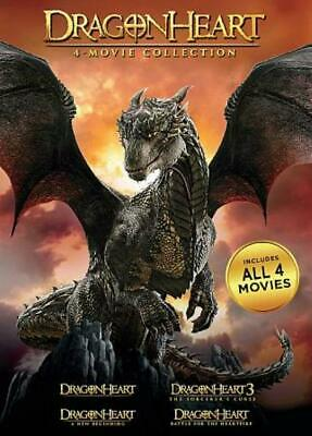 Dragonheart: 4-Movie Collection New Dvd