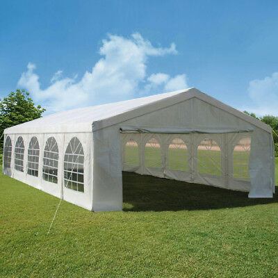 Quictent 5m x 10m White Heavy Duty Marquee Wedding Tent