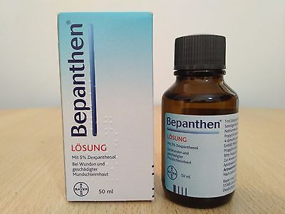 Bepanthen Liquid Solution - Bepantol Liquido - 10ml,30ml,50ml - Fast Hair Growth