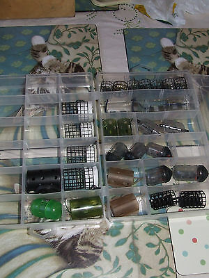 Fishing Feeders Joblot Various Makes In Bait Tech Boxes