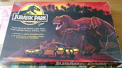 Vintage Jurassic Park Original Board Game ** Rare ** Almost Complete