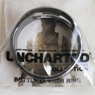 UNCHARTED ring bottle opener beer Flaschenöffner - The Nathan Drake Collection