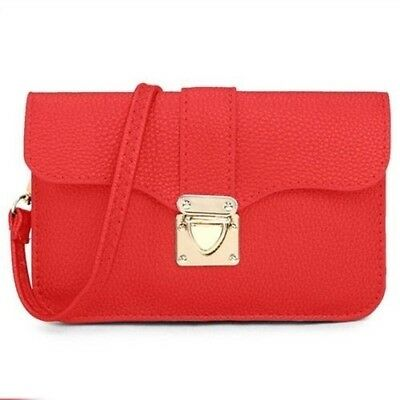 Pixie Mood Jac Small Pouch / Crossbody - Red