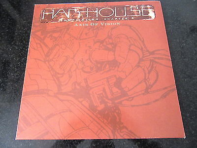 HARTHOUSE COMPILATION VOL. 3 - AXIS OF VISION 2x LP HARD TRANCE CYBORDELICS