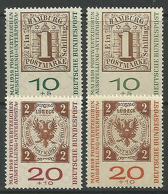 WEST GERMANY. 1959. Stamp Exhibition Set.  SG: 1227/30. Mint Never Hinged.
