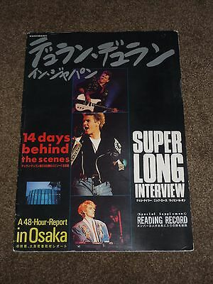"Duran Duran ""14 Days Behind The Scenes"" 1987 Japanese Photobook (NO FLEXI)"
