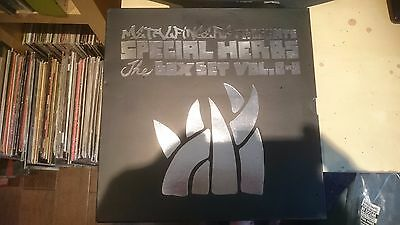 "MF DOOM Special Herbs The Box Set Vol. 0-9  10xLP  +7"" Poster"